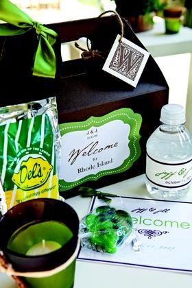 Rhode Island destination wedding gift boxes favors
