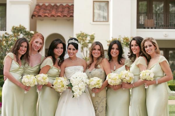 Bridesmaid and maid of honor attire