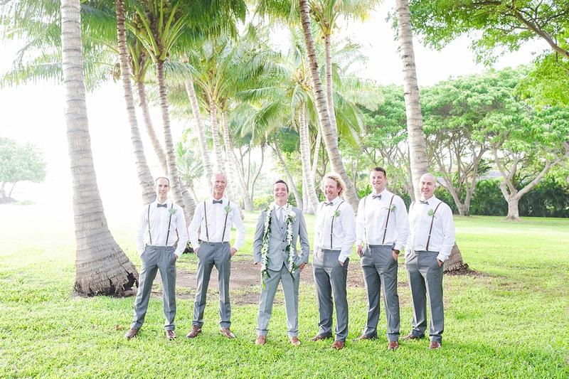 Hawaiian Groom Dress