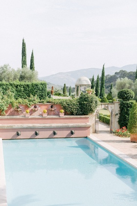 destination wedding at private chateau in the south of france