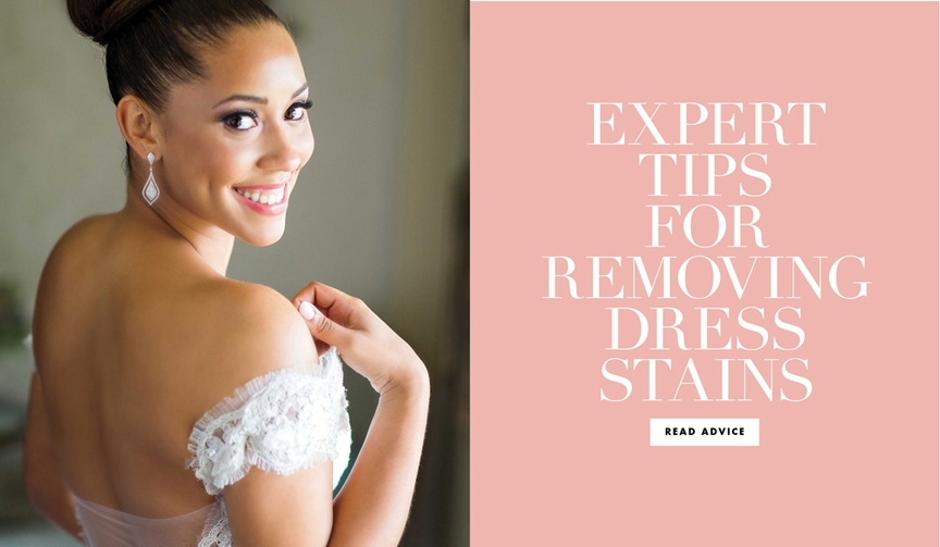 Expert tips for removing dress stains from bridal salon Bridal Reflections in New York