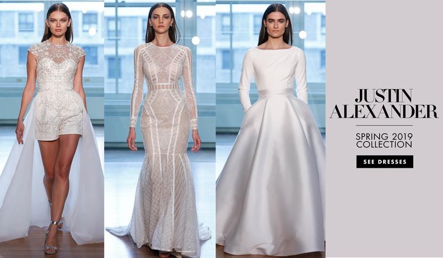 Bridal Fashion Week: Justin Alexander Spring 2019