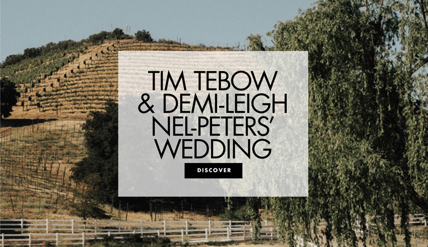 Tim Tebow and Demi-Leigh Nel-Peters wedding more information South Africa celebration