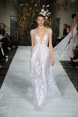 See Nature Inspired Wedding Dresses From Mira Zwillinger