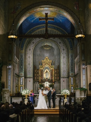 St. John's Cathedral wedding in Los Angeles