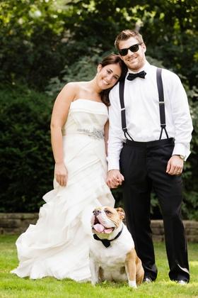 Hockey player Brett Sterling on wedding day