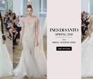 dramatic wedding dresses gowns ines di santo spring 2018 designer beautiful bride bridal