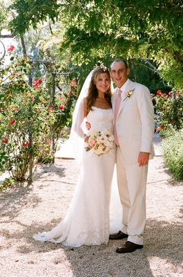 Bride and groom at Ojai Valley Inn & Spa