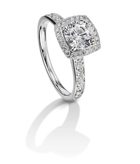 Furrer Jacot 53-66731-1-W white gold engagement ring