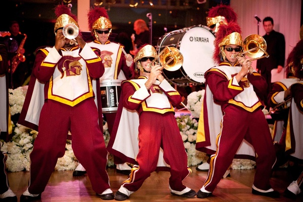 University of Southern California Trojans on stage