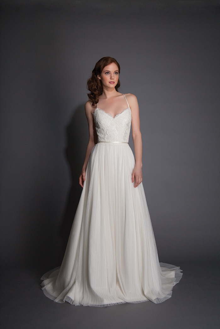 Simple Wedding Dresses for a Casual Celebration - Inside Weddings
