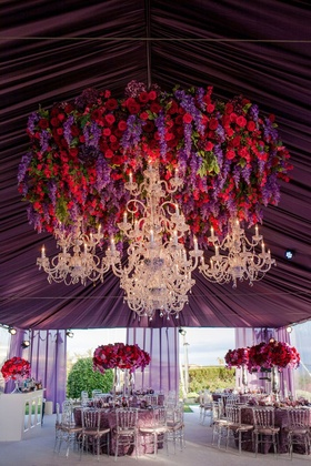 An intimate tented affair at a private estate in Newport Coast.