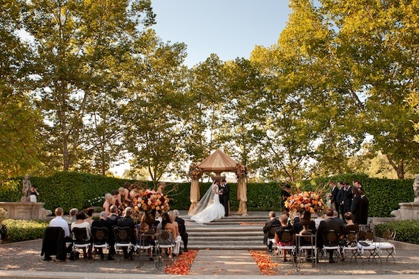 Beaulieu Garden wedding in Rutherford, California