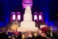 Amena Jefferson and Brandon Mebane's wedding cake
