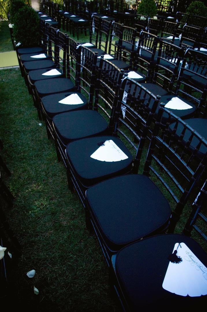 ceremony décor photos fan ceremony programs inside weddings