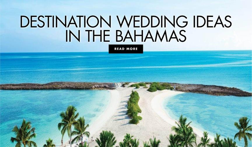 destination wedding ideas in the bahamas atlantis paradise island wedding venue honeymoon location