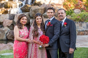 Indian Mother-of-the-Bride and Father-of-the-Bride attire