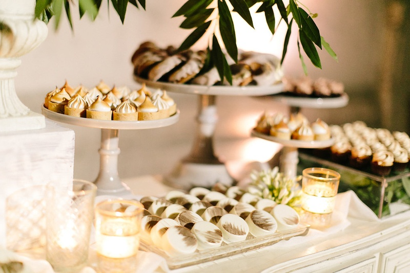 Wedding reception dessert table cuban wedding details merengue and other treats