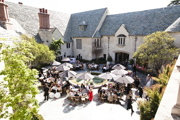 Greystone Estate reception in Beverly Hills