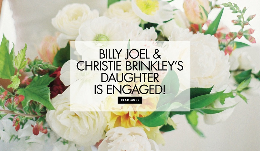 Billy Joel and Christie Brinkley's daughter Alexa Ray Joel and Ryan Gleason are engaged