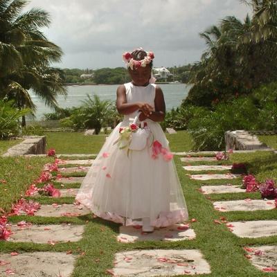 African-American flower girl attire