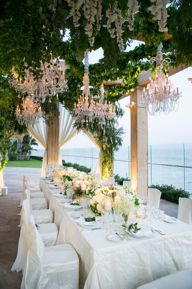 Reception Décor Photos - Classic Vow Renewal Dinner Table - Inside ...