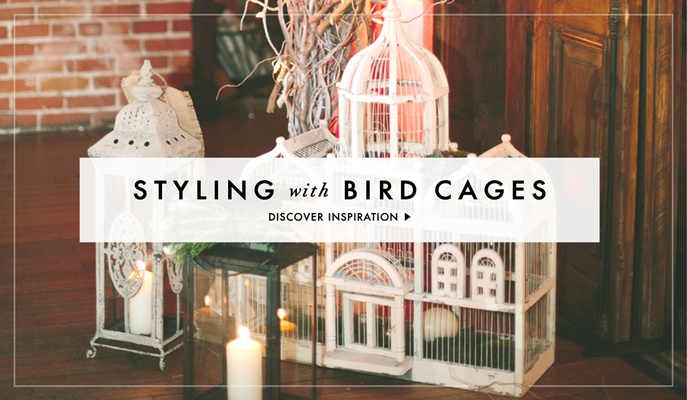 Bird Cage Wedding Decoration Style Inspiration