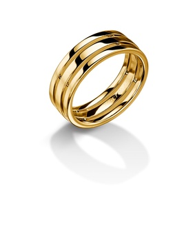 Furrer Jacot 71-26470 yellow gold wedding band
