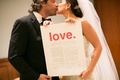 Adrianna Costa and Scott Gorelick LOVE ketubah