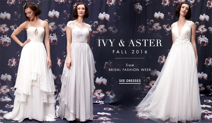 Ivy & Aster Fall 2016 wedding dress collection
