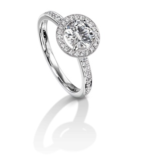 Furrer Jacot 53-66751-0-W white gold engagement ring