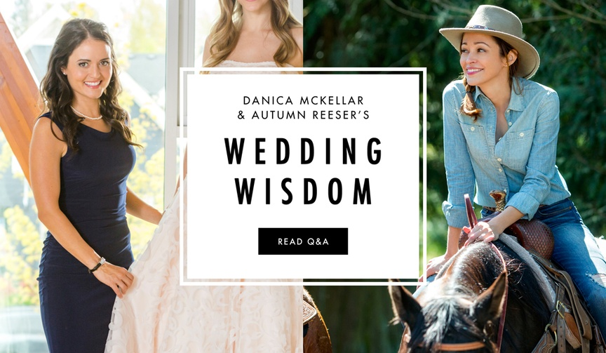 Hallmark Channel Stars Share Wedding Tips