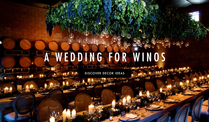 Ideas For Winery Wedding