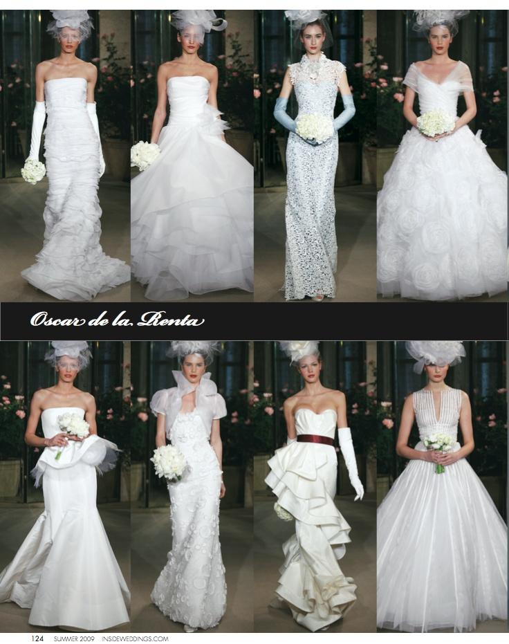 Wedding Dresses Photos Oscar De La Renta Bridal Collection