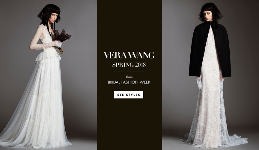 Mother of Bride Dresses Vera Wang Spring 2018
