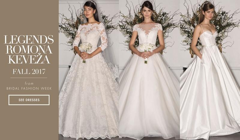 What To Wear To A Fall Wedding 2017.Bridal Week Legends Romona Keveza Fall 2017 Inside Weddings