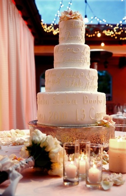 wedding cakes santa barbara california outdoor wedding in santa barbara california 25431