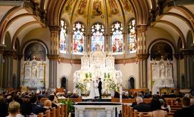 wedding ceremony venue church catholic wedding ceremony