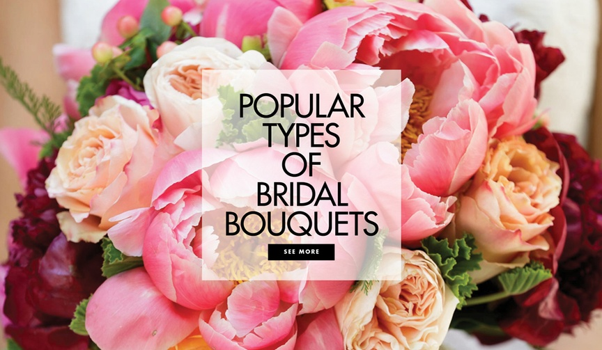 Popular types of bridal bouquets wedding bouquet styles