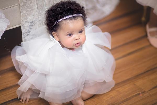 pantora mini flower girl dress baby in fluffy tulle dress