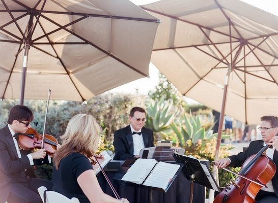 Enchanted Evening Productions at outdoor wedding ceremony at Montage Laguna Beach