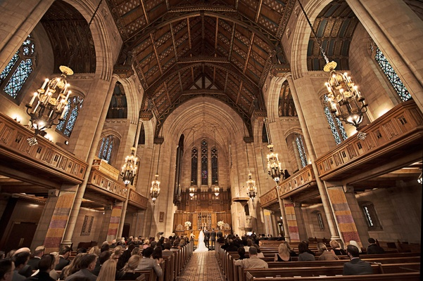 presbyterian church in chicago as a couples ceremony space