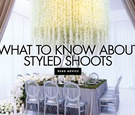 what to know about styled shoots wedding advice from andrea eppolito events
