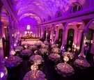 Bird's-eye view of Vibiana reception space