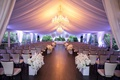 four seasons hotel los angeles at beverly hills ceremony drapery chandelier tent purple lighting