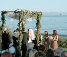 Jewish ceremony at Bacara Resort & Spa's Presidential Suite Lawn