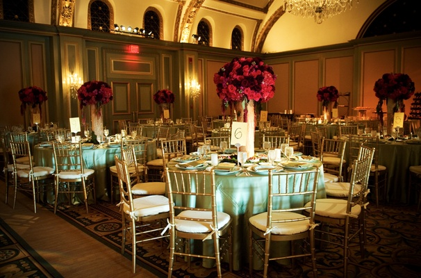 Ritz-Carlton Huntington golden ballroom