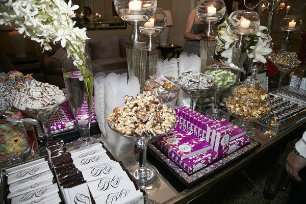 Custom wedding chocolates and Good & Plenty candies