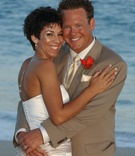 Newlyweds married in Cabo San Lucas, Mexico