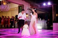Mario Lopez and Courtney Mazza dancing with Gia